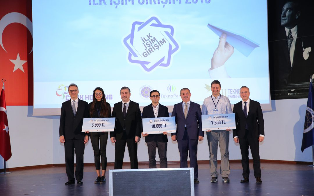 "We Won The Second Place In The Competition Of ""İlk İşim Girişim"""